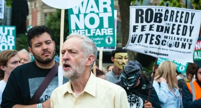 """Left-Winger's Surging Candidacy in UK Taps into Anti-Austerity Energy Veteran UK politician Jeremy Corbyn, a 66-year-old left-winger whose stances against austerity, nuclear weapons, and war have been described as """"uncompromising,"""" is gathering steam ahead of upcoming Labour party leadership elections, according to new polling released this week."""