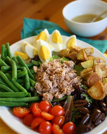 LOVE this salad! Sunday Dinner: Salade nicoise