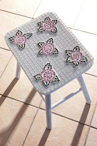 Creative Company | Just Mosaics: Flower stool