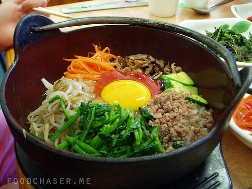 Colourful Bibimbap, Korean Restaurant by foodchaser, via Flickr