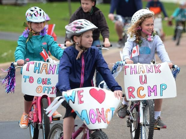 Thumbs Up: This put a smile on our face after what happened earlier this week in Moncton.