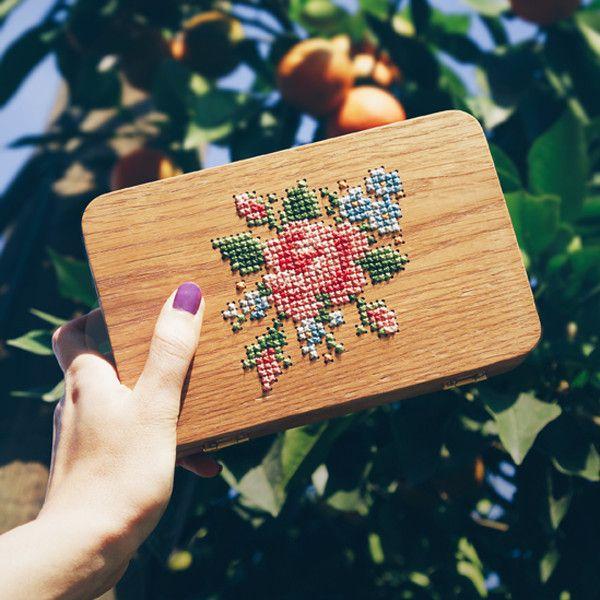 wooden purse & clutch by GRAV GRAV