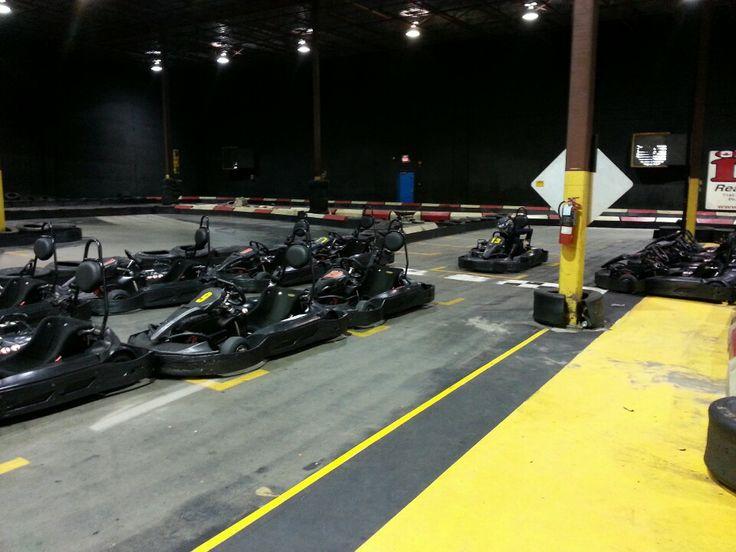 Indoor go cart racing