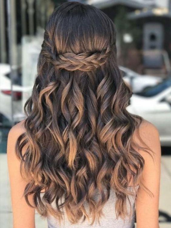 30 Best Prom Hair Ideas 2021 Prom Hairstyles For Long Medium Hair Hairstyles Weekly Hair Styles Long Hair Styles Elegant Wedding Hair