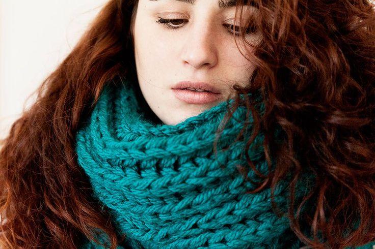 Fábrica de Imaginación · Moda y Diseño DIY   DIY Cuello de lana