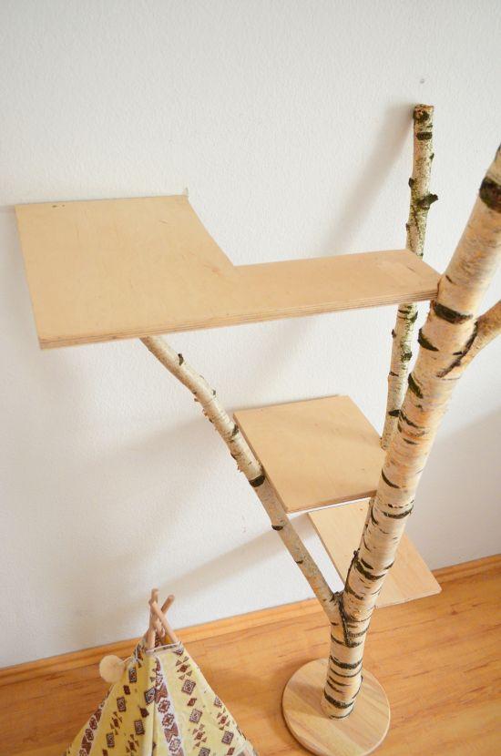 Make it boho : DIY Naturkratzbaum mit Boho-Flair