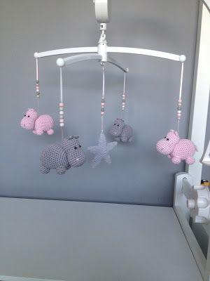 Troetels en zo, #haken, gratis patroon, Nederlands, mobile, nijlpaard, amigurumi, baby, knuffel