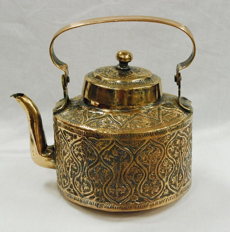 antique Persian tea pot