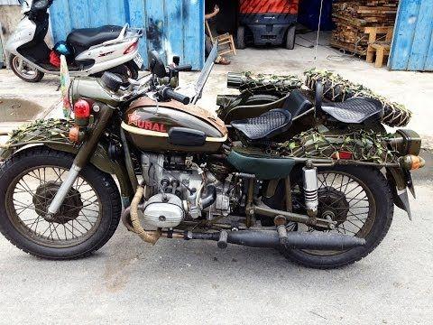Ural 850cc - Cận Cảnh Xe Mô Tô Cảnh Sát Việt Nam