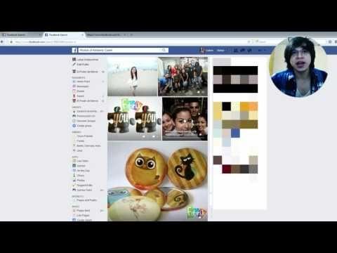 Como Ver Fotos Privadas de Facebook sin ser Amigo 2016 - YouTube