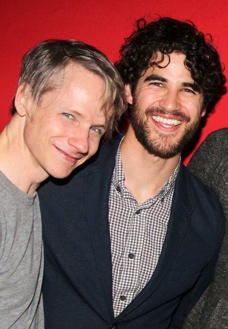 Darren Criss, John Cameron Mitchell celebrate Lena Hall's last performance at 'Hedwig and The Angry Inch' on Broadway. April 4, 2015//