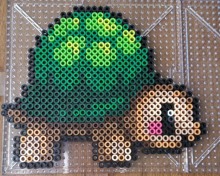 Turtle perler beads by Maxlacus