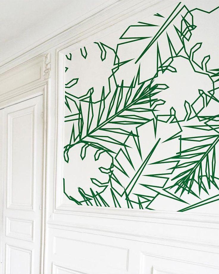 As 25 melhores ideias de deco tape no pinterest ruban adhesif deco fitas w - Decorer un mur blanc ...