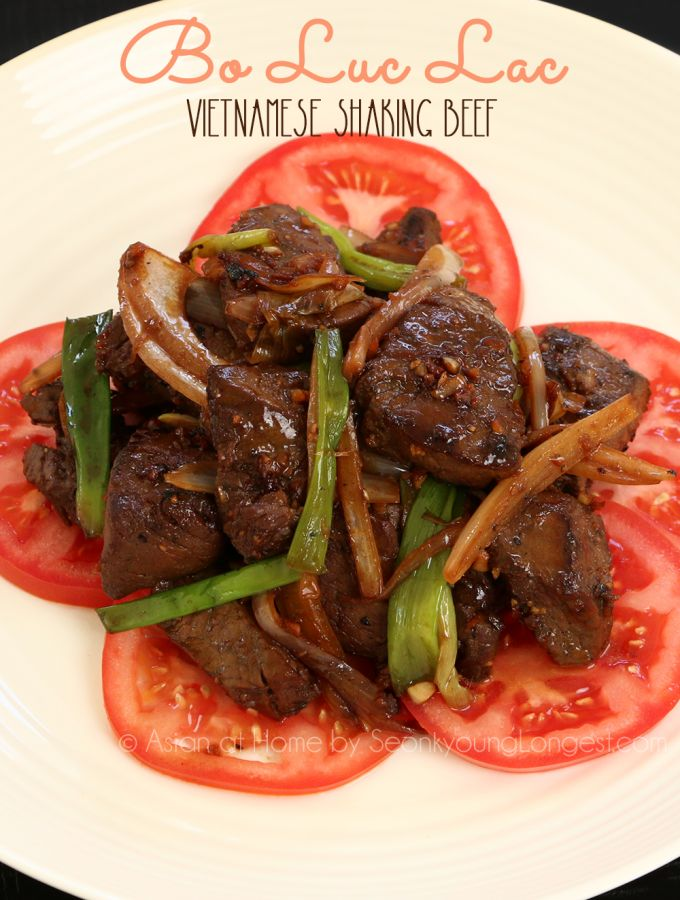 Shaking Beef (Bo Luc Lac) Recipe & Video
