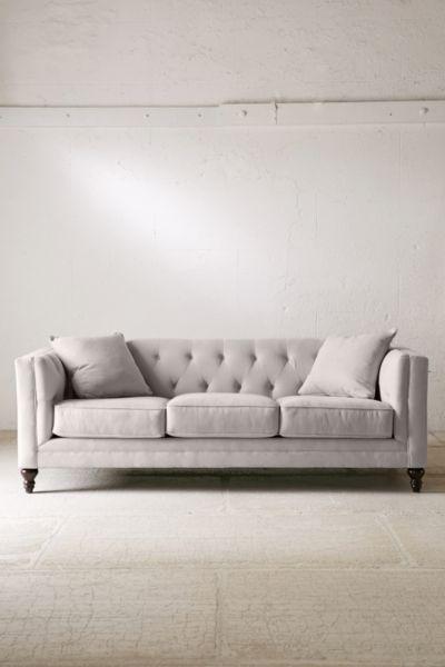 Graham Microfiber Sofa - for living room