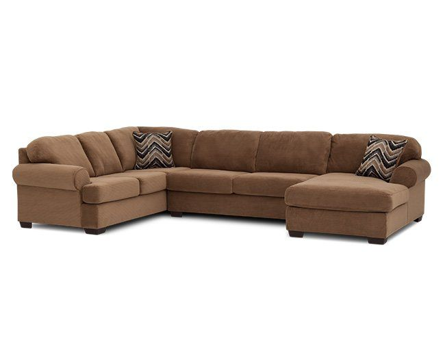 Glasgow 3 Pc. Sectional   Furniture Row $999. Quality SofasSectional FurnitureLiving  Room ... Part 62
