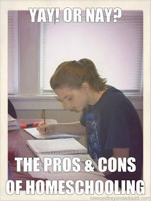 The truth about homeschooling - Pros and Cons!