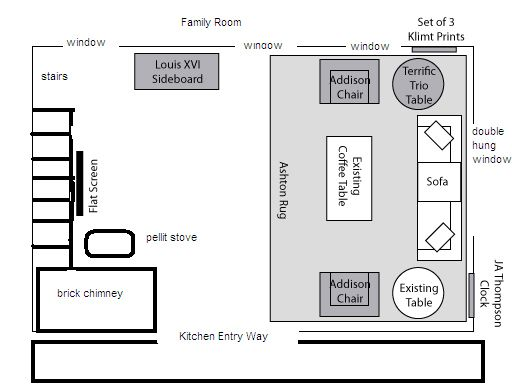 Attached Is A Drawing Of My Living Room Layout