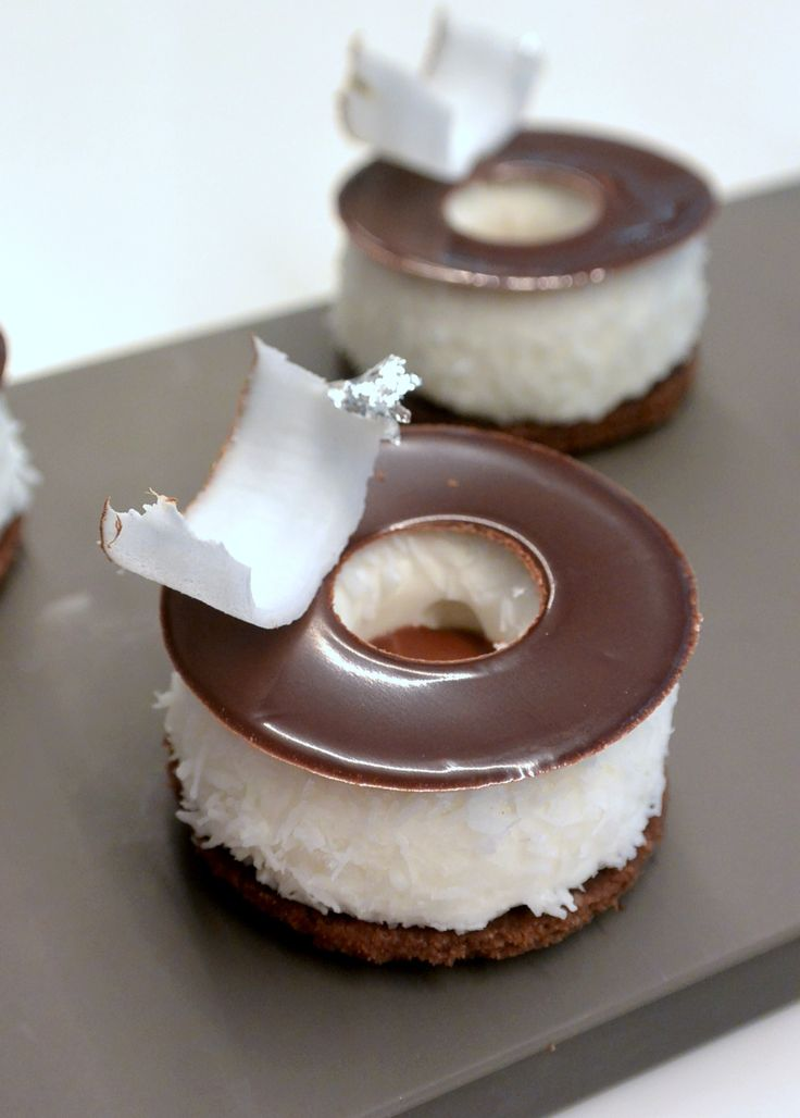 ♥ Kokosová kolečka s čokoládou ♥