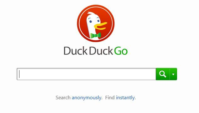 """♥Consider DuckDuckGo Search Engine♥ """"Little known search engine that refuses to store data on users."""""""