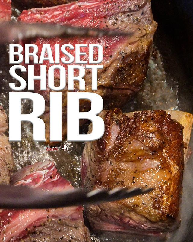 If You Re Staying In For Nye And Looking For Something To Cook This Braised Shortrib Recipe Is Insane Braised Short Ribs Short Ribs Braised Beef Recipes