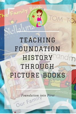 Teaching Foundation (Kinder/Prep) History through picture books - family structures, grandparents, siblings and Indigenous communities.
