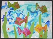 poissons arts plastiques école maternelle