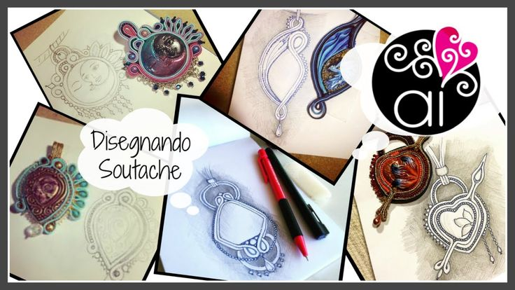 Disegnando Soutache | Drawing Soutache Jewelry