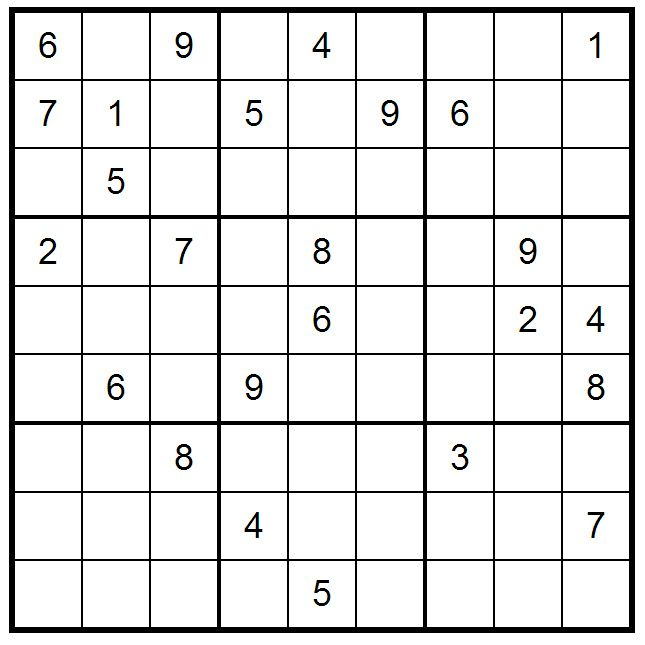 Monday intermediate Sudoku (15/7/2013) print or play online by clicking the picture  Sudoku