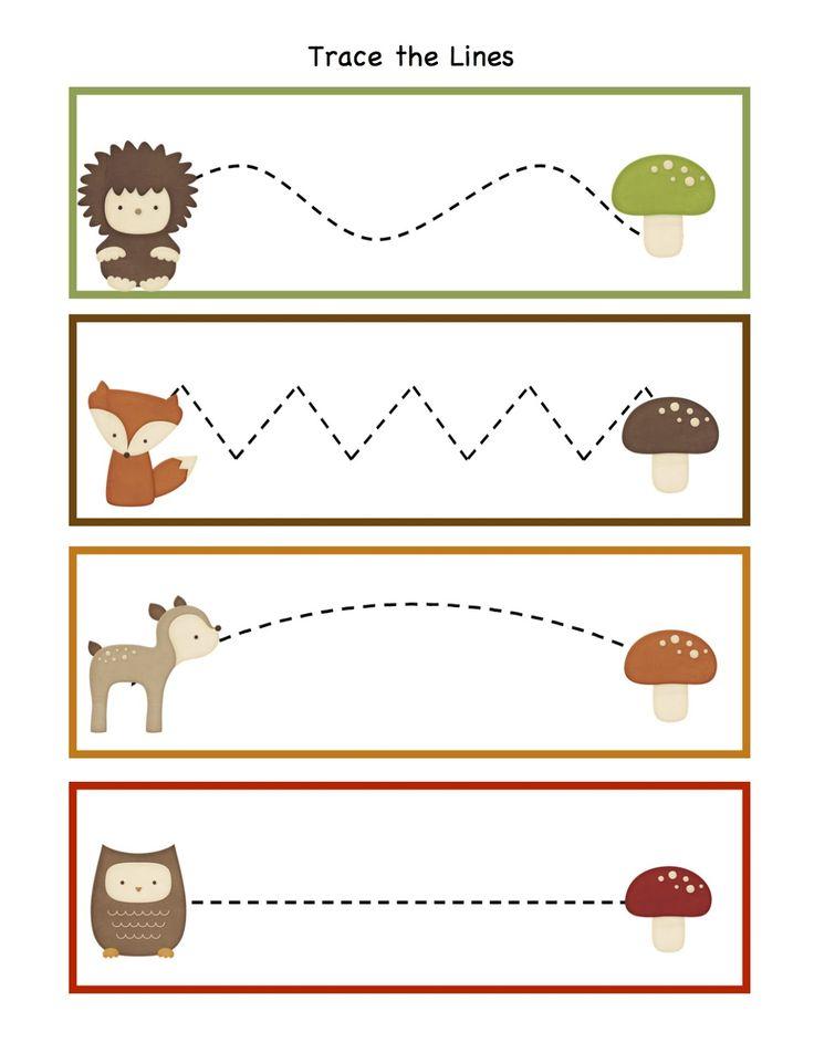 Preschool Printables: Forest Animals