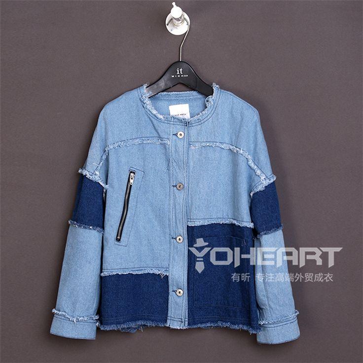 Женские Весна джинсовая куртка сотни хорошо весной 2015 фитинга короткие куртки…