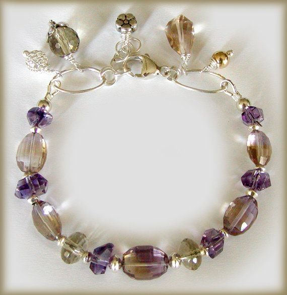 Stunning bi-color gemstones ... Ametrine! $69