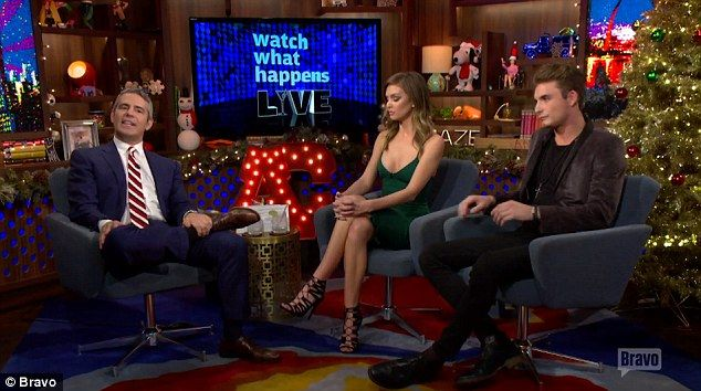 'Trainwreck:' The reality TV stars repeatedly swore throughout the interview, despite the host's pleas to watch their language during the live broadcast