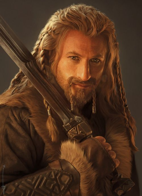 Fili from The Hobbit by euclase