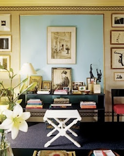 Albert Hadley.: Decor, Interior Design, Living Rooms, Idea, Blue, Color, Albert Hadley, Wall