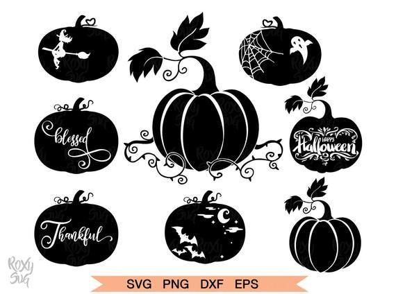 Halloween Pumpkin Svg Pumpkin Bundle Svg Halloween Svg Etsy Pumpkin Clipart Halloween Pumpkins Svg