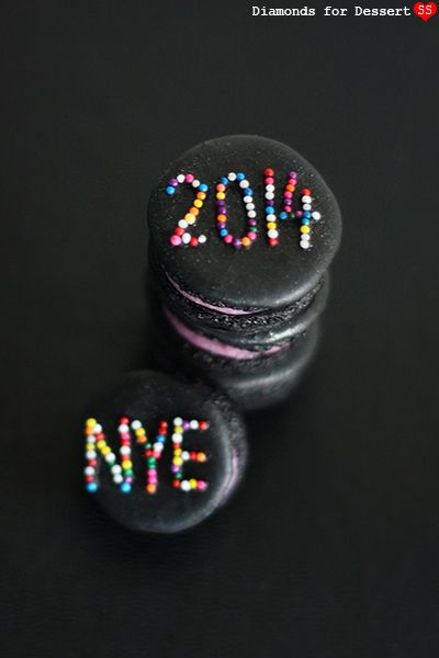 New Year's Eve Macarons