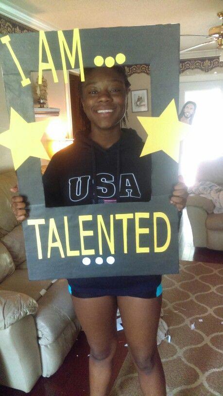 I've Got Talent VBS photo board