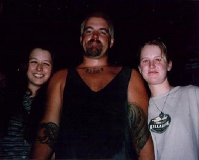 Photo taken of Sublime frontman Bradley Nowell (center) after Sublime's final show on May 24 1996. The next morning he died of a heroin overdose.