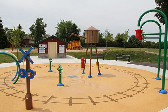 Image result for Toronto splash pad