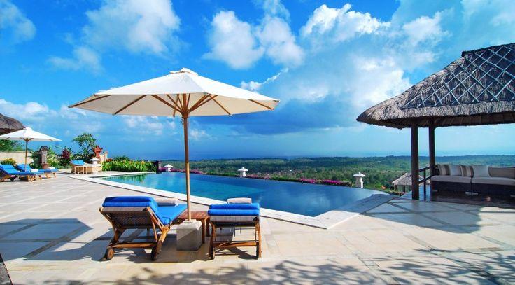 Villa Puri Balangan ocean view pool