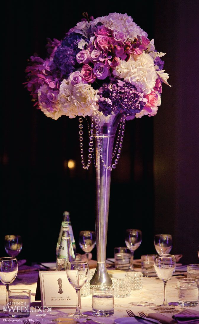 Wedding Décor Ideas With Tall Centerpieces | Decozilla