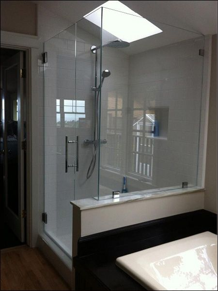 Custom Glass Shower and Shower Door Enclosures, Frameless Glass Shower and Tub Enclosure, Frameless Sliding Shower Doors and Shower Screens - Glass and Glazing Blog, Santa Cruz | Showcase Shower Door Company
