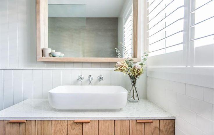Toowoon Bay Renovation Downstairs Bathroom Reveal!