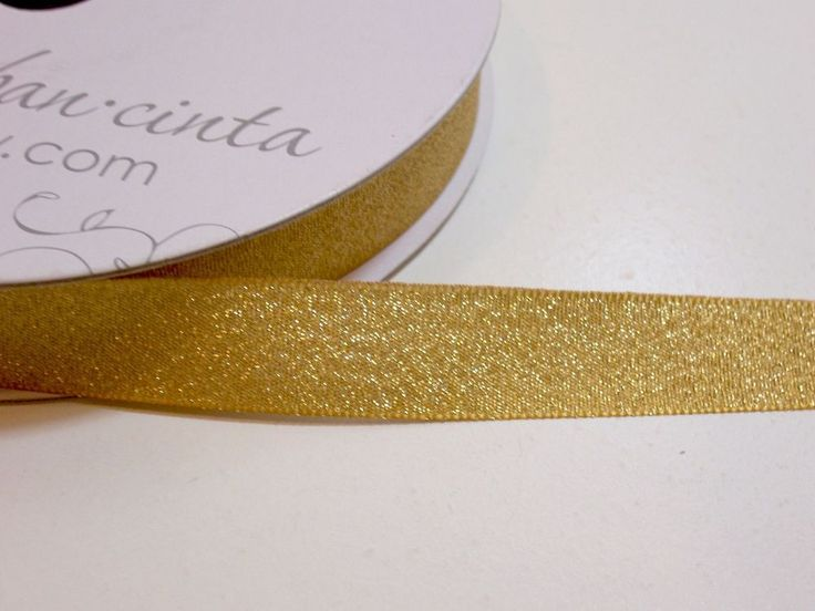 Luxe Old Gold Satin Ribbon 5/8 inch wide x 50 yards, Offray Ribbon, Gold Ribbon #Offray