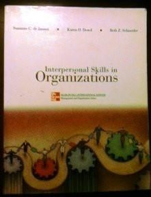 Interpersonal Skills in Organizations - Soft Cover (McGraw-Hill International Edition. Management and Organization Series)