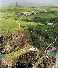 Lundy Island off the coast of Devon, UK just three and half miles long and half mile wide it is a haven for wildlife, you can even stay in the castle which was build by Henry II in 1244.