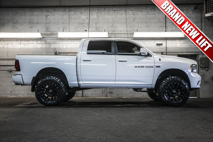 "2011 Dodge Ram 1500 4x4 with a Brand New 6"" Fabtech Performance Lift with 20"" XD Strike Wheels on 35"" x 12.50 R20 Nitto Trail Grappler Tires All For Sale 