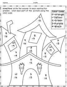 19 best Halloween worksheets and coloring pages images on