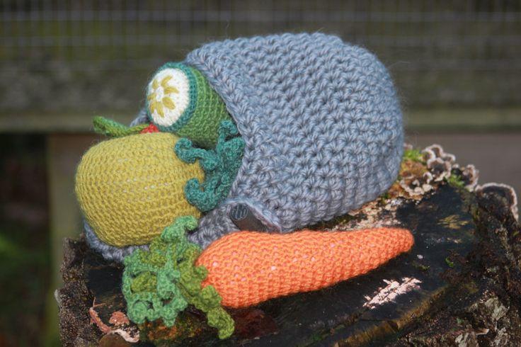 Mad til Kæphesten Konrad  #kaephest #haekling #hobbyhorse #crochet